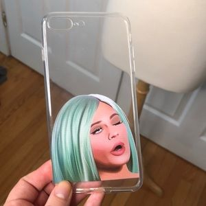 Accessories - Clear Kylie iPhone 8+ Case
